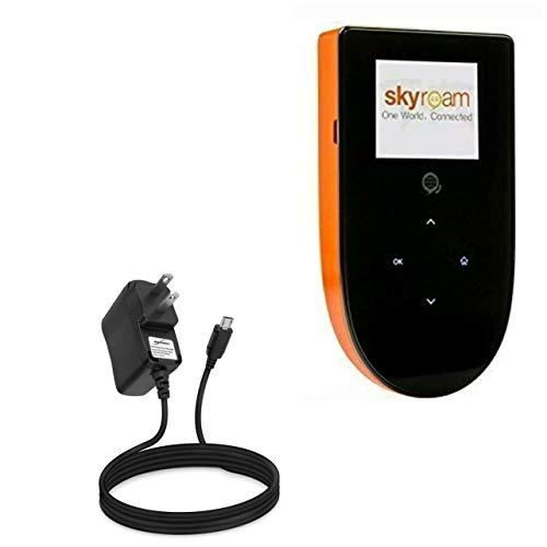 Skyroam Mobile Hotspot: Global WiFi Charger, BoxWave [Wall Charger Direct] Wall Plug Charger for Skyroam Mobile Hotspot: Global WiFi