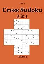 Cross Sudoku 5 in 1: Volume 2