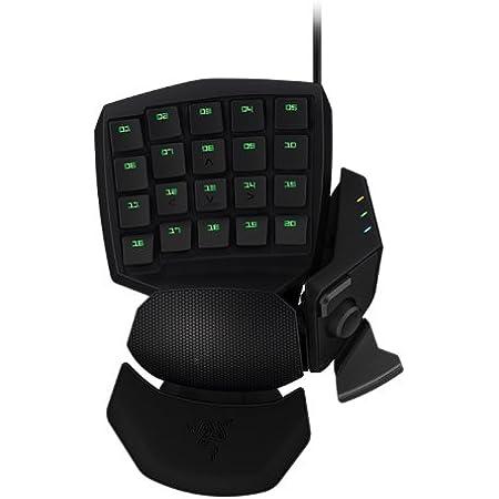 Razer Orbweaver - Teclado Gaming mecánico por un Mano, para Juegos, USB 2.0, Color Negro