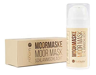 Deluxe Moor Mask Schlammschlacht, Detox Face mask against skin impurities, Face peeling for deep cleansing and pore-refining by Lumunu passion products