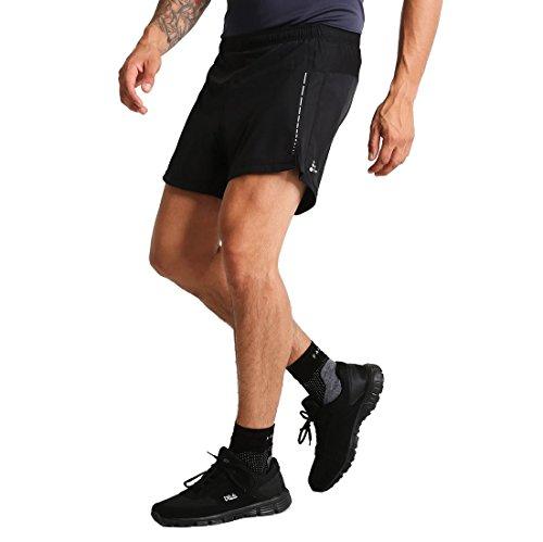Craft Hombre Essential 5'Pantalones Cortos M Pantalones Cortos para Correr, Hombre, Color Negro, tamaño Small