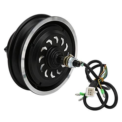 minifinker Motor del Eje de Rueda de 24V 350W Seguro Motor del Eje de Rueda de 10 Pulgadas, para la Vespa eléctrica