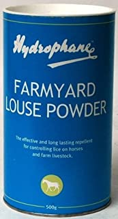 Hydrophane Farmyard Louse Powder - 500g - long lasting repellent against lice and other parasites