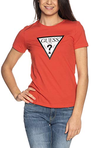 Guess T Shirt Logo Red W1RI00I3Z11-G5N1 S