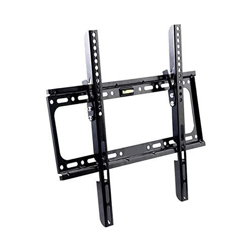Soporte tv suelo Soporte de montaje en pared TILT TV para la mayoría de los televisores de 26-55 pulgadas, soporte de TV con MAXVEA400x400mm, cargando capacidad de hasta 55 lbs, perfil bajo y ahorro d