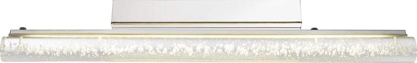 Globo Melvin badkamerlamp, acryl, chroom