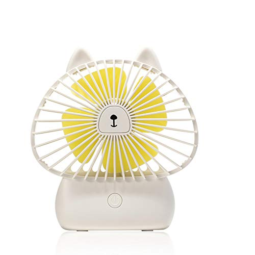 Byx- Mini Fan handheld USB draagbare mini opladen mute-dochter nachtlampje cartoon fan 4 Watt 5 V - Mini fan