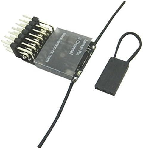 Lemon Rx DSM2 Compatible 6-Channel Receiver (Feather Light, End-Pin) by Lemon RX