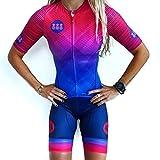 N / A WW Traje de Ciclismo Mujer Equipo Ciclismo Jersey Conjunto Camisa de Manga Corta de Verano Pantalones Cortos de Bicicleta MTB