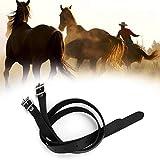 【𝐏𝐫𝐨𝐦𝐨𝐜𝐢ó𝐧 𝐝𝐞 𝐒𝐞𝐦𝐚𝐧𝐚 𝐒𝐚𝐧𝐭𝐚】Cinturón de Estribo, cinturón de Estribo de Acero Inoxidable para alargar cueros de strup Cinturón de Estribo de Caballo, Accesorios de Caballo para Est