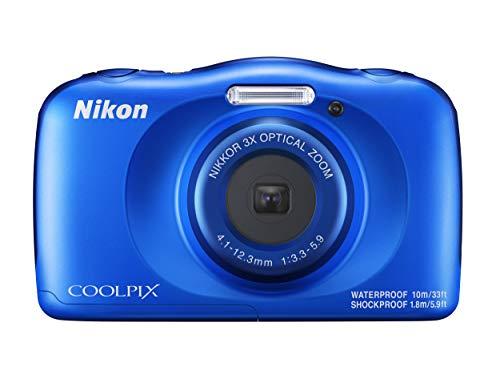 """Nikon COOLPIX W150 Cámara compacta 13,2 MP CMOS 4160 x 3120 Pixeles 1/3.1"""" Azul - Cámara Digital (13,2 MP, 4160 x 3120 Pixeles, CMOS, 3X, Full HD, Azul)"""