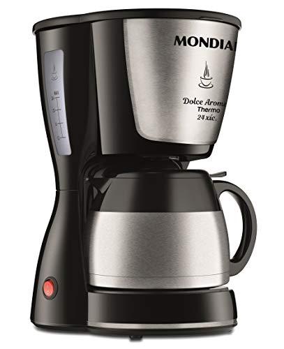 Cafeteira Elétrica, 220V, Preta, Mondial - C-33-JT-24X