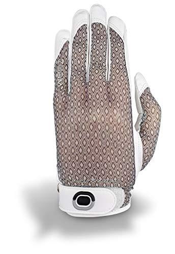 Zoom Sun Style Handschuh Damen weiß/schwarz Linke Hand/Einheitsgröße