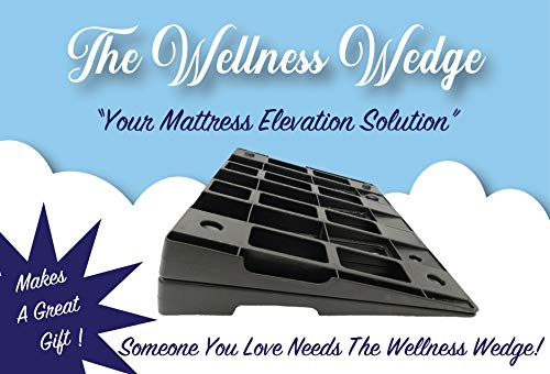 Your Mattress Elevation Solution: Two Pack of Under-Mattress Wedges