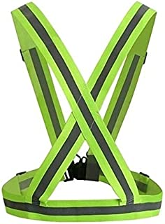 Safety Vests 360 Degrees Reflective Safety Vest Strips High Visibility Security Jacket Reflective Strips Work Uniforms for...