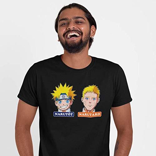 T-Shirt Noir Boruto - Naruto parodique Naruto : Narutôt. Narutard ! (Parodie Boruto - Naruto)