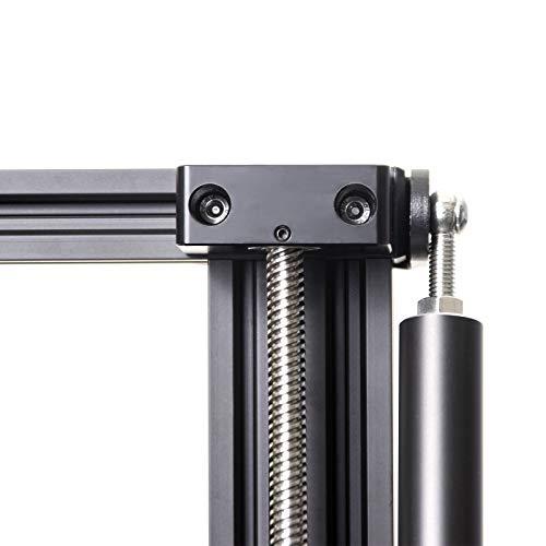 UniTak3D Soporte de Rodamiento de Barra Z Upgrade Aluminium,Tornillo de Plomo del Eje Z,Montaje Superior,Compatible con las Impresoras 3D Creality CR-10 / CR-10S,Ender 3 / Ender 3Pro Series