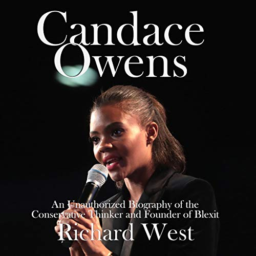 Candace Owens audiobook cover art