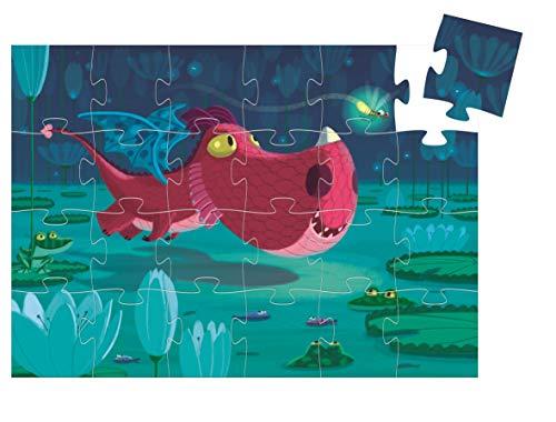 Djeco Puzzle Edmond Le Dragon 24 pcs