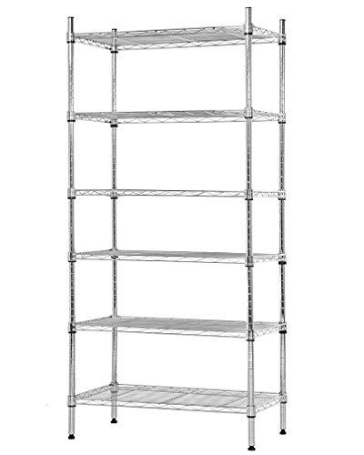 Tribesigns 12 Shelves Bookshelf, Industrial Ladder Corner Bookshelf 9 Cubes Stepped Etagere Bookcase, Rustic 5-Tier Display Shelf Storage Organizer for Home Office (Black)