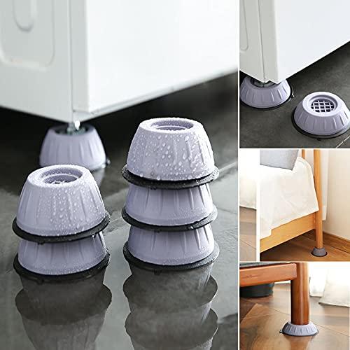 Anti Vibration Washing Machine Support,universal Anti Vibration for Washer and Dryer Machine Refrigerator Home Furniture Appliances (5PCS,Smal)