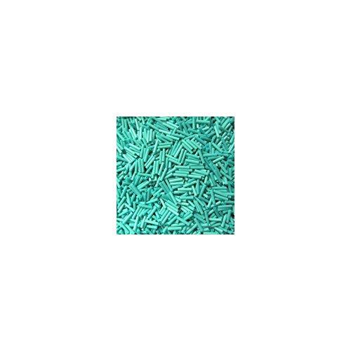 Gütermann Perlen Stifte 2 mm Röhrchen 10 g Farbe 7500 türkis
