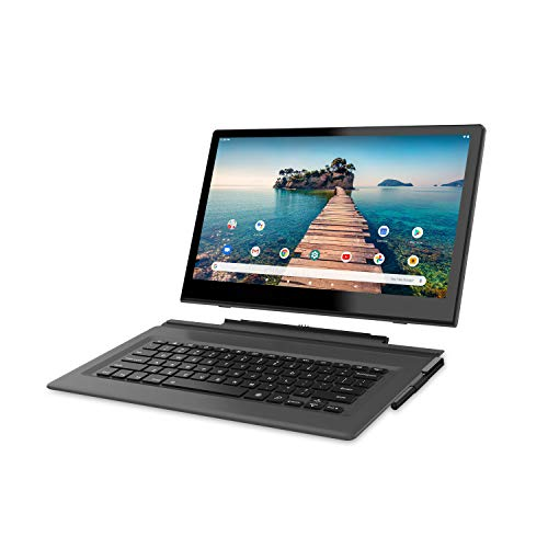 """Venturer 14"""" Luna Max Quad-Core 3GB RAM 64GB Storage IPS 1920 x 1080 FHD Touchscreen WiFi Bluetooth with Detachable Keyboard Android 10 Tablet"""