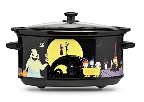 Nightmare Before Christmas 7 Quart Crescent Moon Slow Cooker