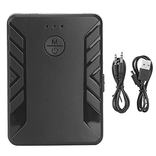 Cloudbox Adaptador de Audio Bluetooth Adaptador de Audio inalámbrico Transmisor Bluetooth 5,0 Receptores HiFi 2 en 1 Corte de Ruido Inteligente