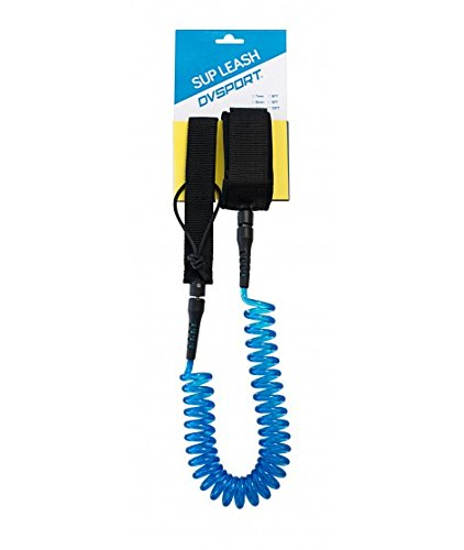 DVSPORT - Leash espiral tabla de surf 10FT acolchado (cordón de seguridad) - Leash Surf y SUP