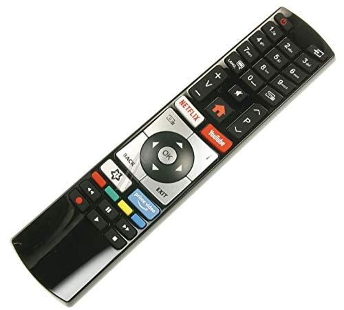 Generic Fernbedienung RC4318 / RC4318P 30100823 für Finlux Telefunken Edenwood Vestel 4K Ultra HD Fernseher mit NetFlix Youtube Tasten