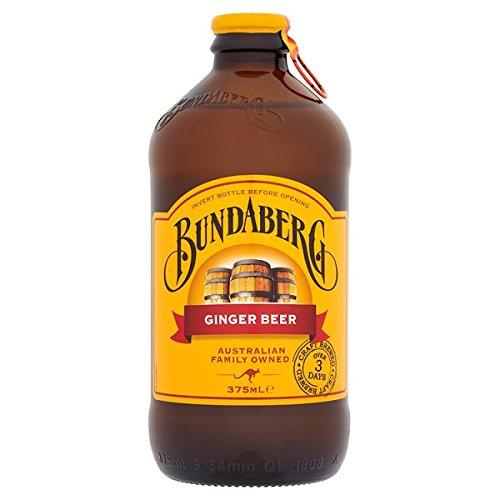 Bundaberg cerveza de jengibre 375ml (paquete de 12 x 375ml)