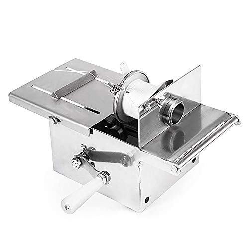 Manual Sausage Linker Machine Knotting Tying Machine Multisize Stainless Steel for Commercial Home Use 32mm/42mm/52mm (Max. Sausage diameter: 32mm)