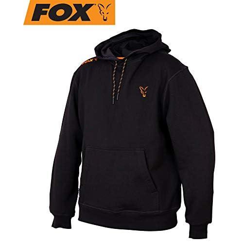 Fox Collection Black/Orange Hoodie