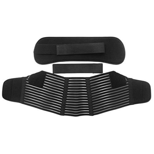 Banda para el Vientre Cinturón de Maternidad Soporte para la Espalda Baja Cinturón de Embarazo Negro/Blanco Cintura Fajas Postparto Envoltura del Vientre