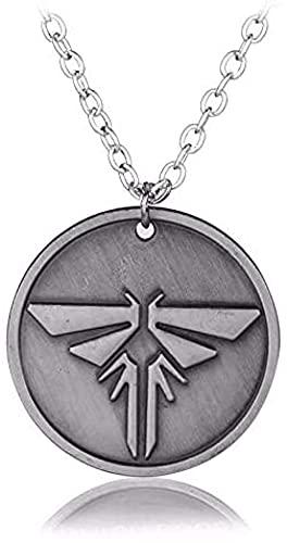 ADIS Videojuegos PS4 The Last of Us Firefly Dog Tag Collar y colgante El último de Estados Unidos collar de joyería accesorios para fanáticos-10