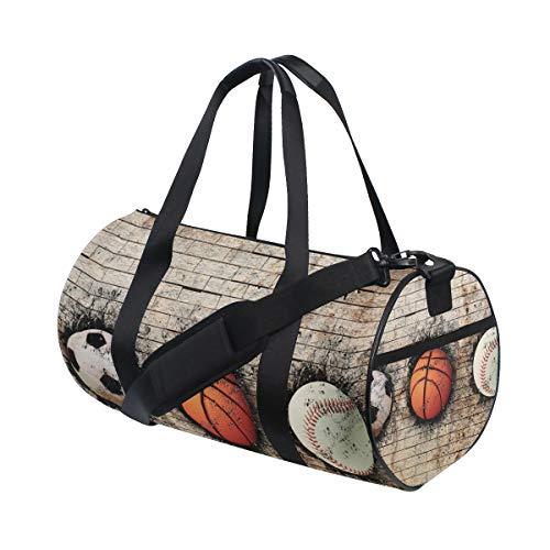LUPINZ - Bolsa para Raqueta de Tenis de Mesa con diseño de balón de Baloncesto
