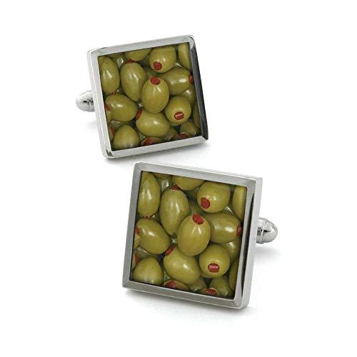 Robert Charles Manschettenknöpfe, Motiv Olivenöl