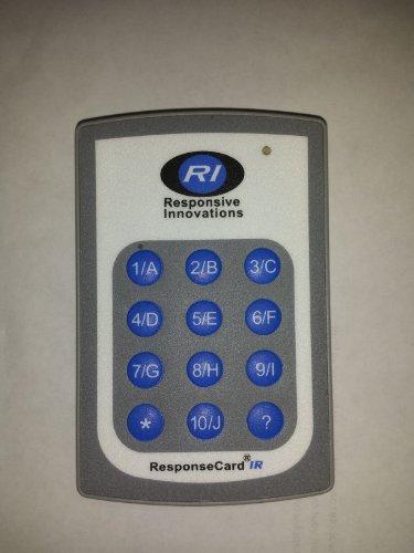 Tuning Technologies ResponseCard IR Clicker RCIR-02