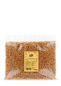 KoRo - Fusilli de garbanzo BIO 2 kg - Elaborado con 100% de harina de garbanzo - Rico en proteínas vegetales - Fabricado en Alemania