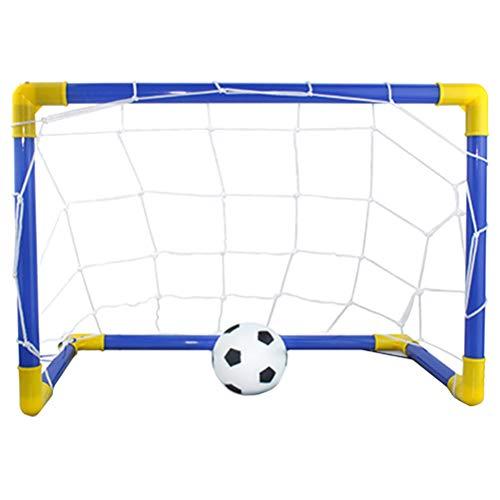 TOYANDONA Mini Juego de Deportes de Portería, Entrenamiento Portátil de Portería de Fútbol para Niños Juego de Portería para Interiores Mini Juego de Fútbol para Niños Que Juegan
