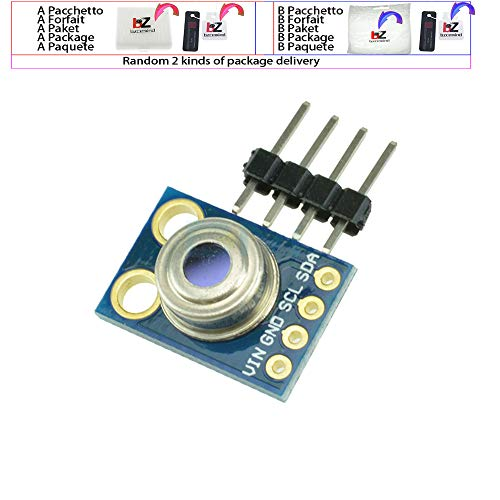 MLX90614 MLX90614ESF Berührungslose Infrarot-Temperatur-IR-Sensor-Modul-Karte für Arduino IIC I2C-Schnittstelle GY-906