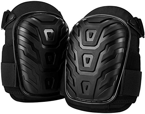 Knee Pads for Work,Strong Double Straps and Adjustable Easy-Fix Clips,Suitable For Men, Women, Gardening, Flooring, DIY, Cleaning