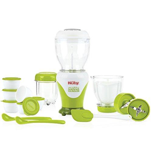 Nuby ID5522 - Set de 18 licuadoras de alimentos