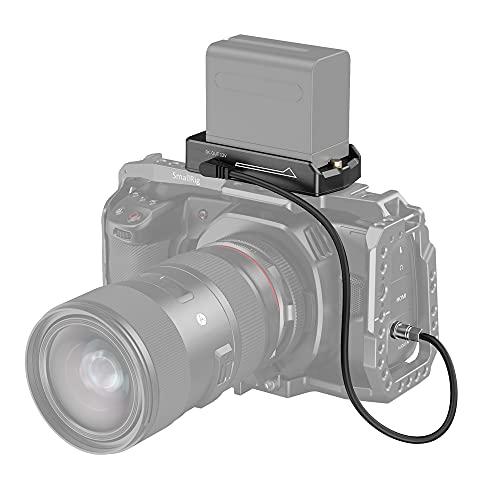 SMALLRIG NP-F Battery Adapter Plate Akku Adapterplatte Lite für BMPCC 4K & 6K, ABS Material - 3093