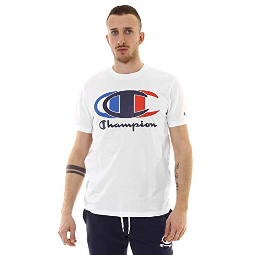 Champion Crewneck Camiseta para Hombre - algodón Talla: L