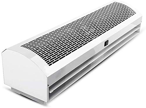 ZHAO Kommerzielle Indoor Air Curtain, Empfohlene Montagehöhe 2,5 M-3,5 M, Lärm unter 60 dB, 220 V / 50 Hz, Weiss (Color : Length 120cm, Size : Ordinary Style)