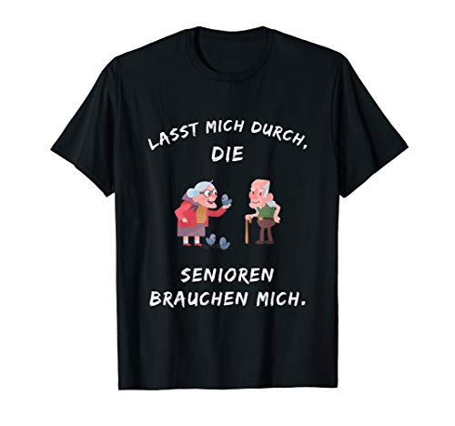 Altenpflege Spruch Lustig Kleidung Pflegekraft Pfleger Humor T-Shirt