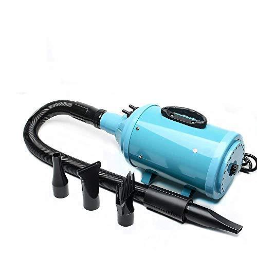 KJRJCW Secador de Pelo for Mascotas Motor de Alta Velocidad