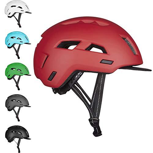 ILM Adult Bike Helmet Commuter Bicycle Cycling MTB Helmets with Adjustable Regulator for Unisex Adults